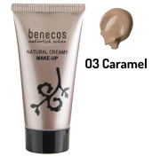 Benecos Natural Liquid Foundation - Caramel 30ml