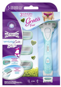 Wilkinson Sword Hydro Silk Bikini Razor with 3 Free Blades