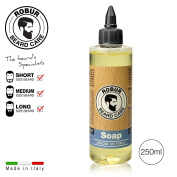 Cleanser for the daily care of a beard and moustache. Detangling effect. Delicate formulation. 250 ml. Beard soap.