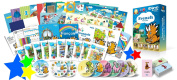 French for Kids Premium set, French Language Learning Dvds, Books, Posters and Flashcards for Children
