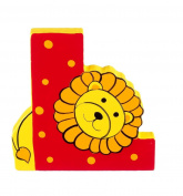 Orange Tree Toys : Wooden Letter L for Lion
