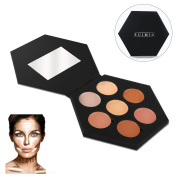 RUIMIO Contour Kit and Highlighting Cream Contour Palette - 7 Colours