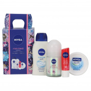 Nivea Mini Treats Moments Gift Set for Women - 4-Piece
