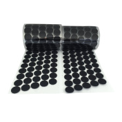 Value Acme 1000pcs (500 Pair Sets) 20mm Diameter Sticky Back Coins Hook & Loop Self Adhesive Dots Tapes