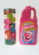 Bubble Bath and Bath Toys Bundle