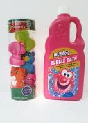 Bubble Bath and Bath Toys Bundle