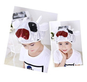 Shintop Children Shower Cap Cartoon Waterproof Double Layer Kid's Shower Hat