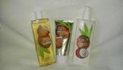 Ulta Coconut Cream Skin Care Set Shower Gel, Body Butter & Lotion
