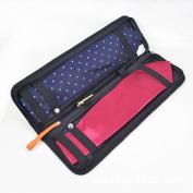 Portable Business Essentials Travel Exclusive For Tie Case Organiser Bags Men Nylon Necktie Travel Tie Case Tie Holder Storage Black