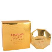 Bebe Glam 24 Karat by Bebe Eau De Parfum Spray 100ml for Women
