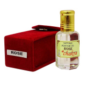 Rose Fragrance Natural Perufme Oil 100 % Pure and Natural - 10 ml By Chakra