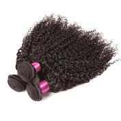 Etino Hot Sell Mixed length Kinky Wave Brazilian Virgin Human Hair Weave Weft 100 Grammes Unprocessed Hair 100% Brazilian Human Hair Extensions