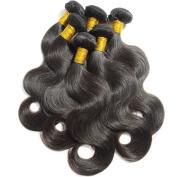BEFA Hair 3 Bundles Brazilian Virgin Hair Body Wave 7A Unprocessed Virgin Human Hair Extensions Natural Colour No Shedding