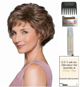 Commitment Large Cap Wig by Gabor, Christy's Wigs Q & A Booklet, 60ml Travel Size Wig Shampoo, Wig Cap & Wide Tooth Comb colour SELECTED