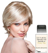 Class Act Wig by Gabor, Christy's Wigs Q & A Booklet & Wide Tooth Comb colour SELECTED