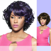CHARLENE (Foxy Lady) - Heat Resistant Fibre Full Wig in RT1BPLUM