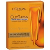 L'Oreal Paris Hair Expertise OleoTherapy Self-Heating Hot Oil Intense Repair Treatment, 1 set - 2pc