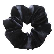 Rosehair 002-13 Velvet Scrunchy for Ponytail Hair Flower Hair Elastics