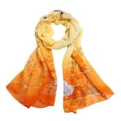 Datework Chiffon Soft Neck Scarf Shawl Scarves Stole Wraps