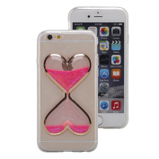 UCLL Iphone 5/5S/SE Case,Time hourglass Design Case for Iphone 5/5S/SE with a Screen Protector