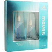 Adidas Moves for Her Gift Set -30ml Eau De Toilette Spray-.150ml Eau De Toilrtte Spray