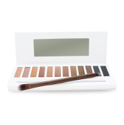 Eyeshadow Palette - Versatile, Highly Pigmented from Naked to Smokey Eye Makeup - FREE Duo Eyeshadow Brush and Step-by-Step Eye Makeup Guide Included