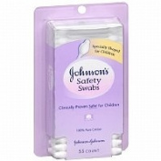 Johnson's Baby Safety Swabs, 55 ea - 2pc