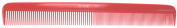 Pro Tip Hairdressing Military Comb PTC06 202Mm Red