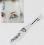 WellieSTR 10PCS Eyelash Extension Styling Ruler Measuring Ruler Eyelash Curling Eyelash Symmetrical Positioning Eyebrow Beauty Tools