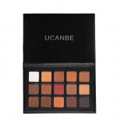 UCANBE 15 Colours Eye Shadow Makeup Palette Matte Natural Fashion Eyeshadow Pigment Cosmetics Make Up Set
