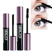 KIMUSE 3D Fibre Mascara Long Black Lash Eyelash Extension Waterproof Eye Makeup set