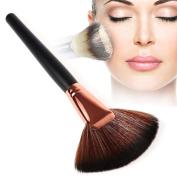 DIDADI Sector Shaped Makeup Cosmetic Brushes Powder Foundation Blush Brush Beauty Tool