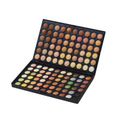 Giselle Professional Nude Eyeshadow Palette - 120 Warm, Naked, Cream, Matte and Glitter Eyeshadow Palette - Highly Pigmented