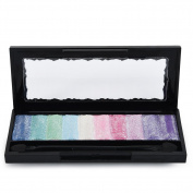 Uarter Eye Shadow Eyeshadow 10 Colour Diamond Shimmer Matte Eye Shadow Makeup Palette Professional Cosmetic Party Masquerade