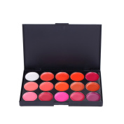 Andercala 15 Colours Lip Gloss Palette Makeup Kit