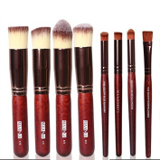 SHERUI Makeup Brush Set Premium Synthetic Kabuki Makeup Brush Set Cosmetics Foundation Blending Blush