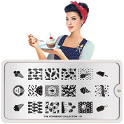 MoYou-London Nail Art Cook Book Plate Collection 10