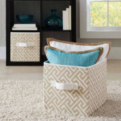 Better Homes and Gardens BH14-098-099-14 Collapsible Fabric Storage Cube - Set of 2