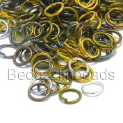 500 Open 6mm Round Jump Rings 21 Gauge 0.71mm Jewellery Jumpring Findings