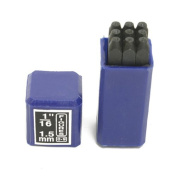 Number Stamp Set 0.2cm 9pcs - SFC Tools - 55-408