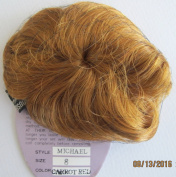 PLAYHOUSE Collection Craft DOLL HAIR WIG Style MICHAEL Fits SIZE 20cm Colour CARROT RED Synthetic JAPAN Fibre
