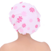 Sarah Shower Caps Shower Cap for Long Hair Salon Grade Beauty Caps Spa Accessories
