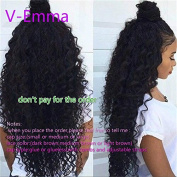 V-Emma Peruvian Sexy Loose Curly Silk Base Wig Silk Top Full Lace Human Hair Wigs With Baby Hair Glueless Full Lace Wig For Sale