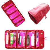 BeneU Roll-N-Go Roll-Up Organiser Bag for Cosmetics, Jewellery, Accessories, Electronics