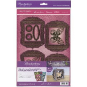 Hunkydory Flight Of The Butterflies Jewelled A4 Card Kit-Butterfly Echo
