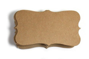 Kraft Paper Business Cards (100) Paper K04- Blank