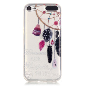 Wwwe® Ipod Touch 5 Case, Touch 6 case, Dream-catcher Soft Back Cover for Ipod Touch 5/6