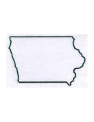 Pack of 3 Iowa State Stencils Made from 4 Ply Mat Board 11x14, 8x10, 5x7