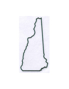 Pack of 3 New Hampshire State Stencils Made from 4 Ply Mat Board 11x14, 8x10, 5x7