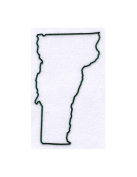 Pack of 3 Vermont State Stencils Made from 4 Ply Mat Board 11x14, 8x10, 5x7
